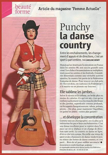 Punchy le country